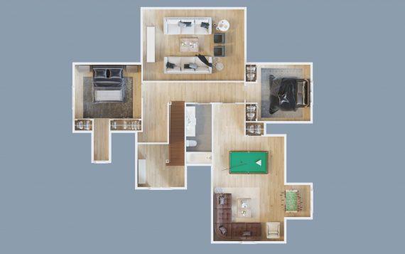9 Dorset - Floor Plan 2nd floor